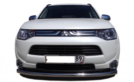 MITSUBISHI   Outlander  2014   Защита переднего бампера  60